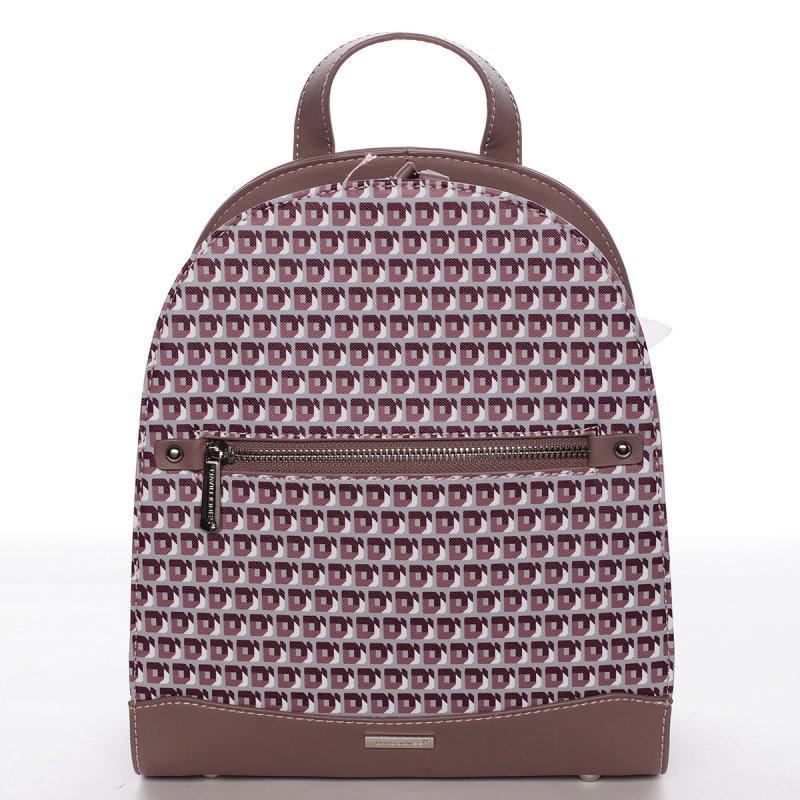 Dámský barevný batůžek Zoltán růžový