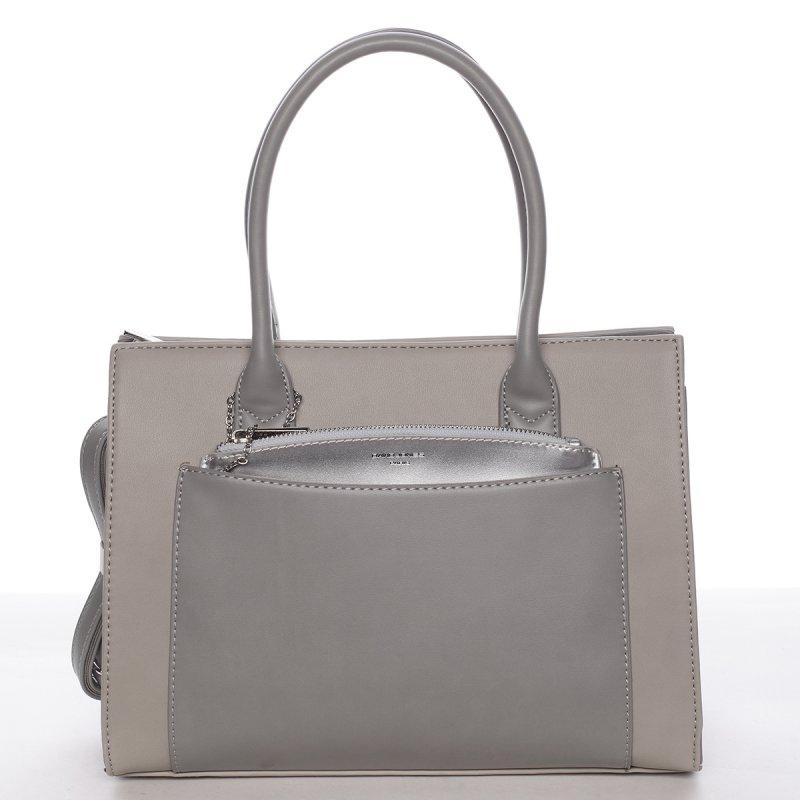 Dámská kabelka Elen šedá