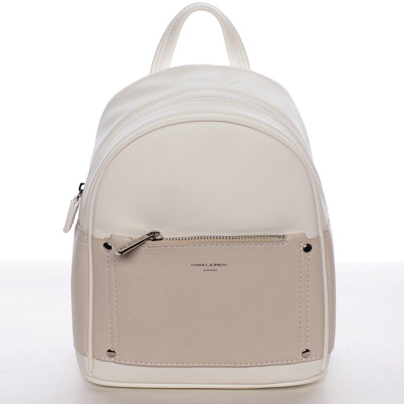 Dámský stylový batůžek Etela bílý