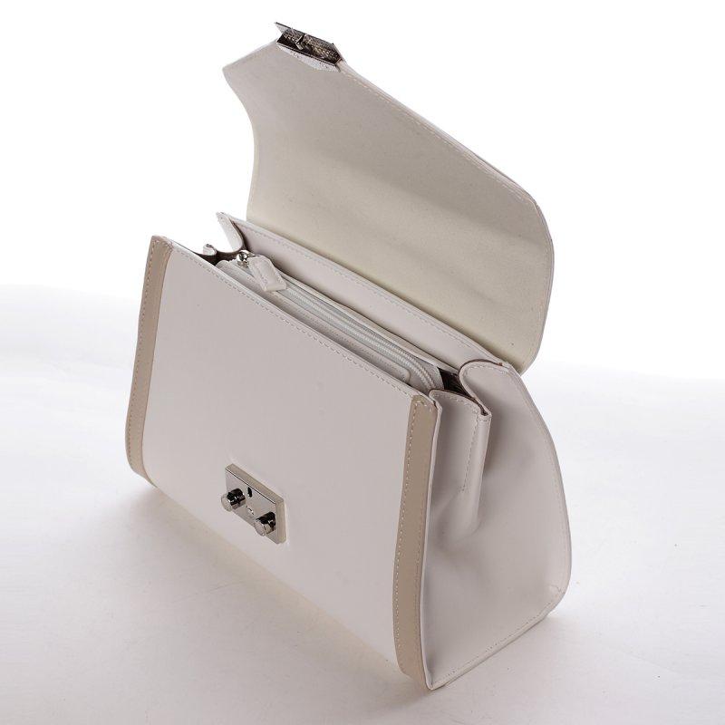 Dámská elegantní kabelka Eleonora béžová