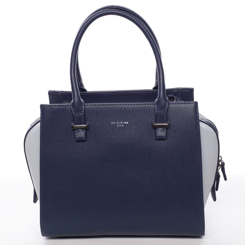 Dámská kufříková kabelka Dorota tmavě modrá