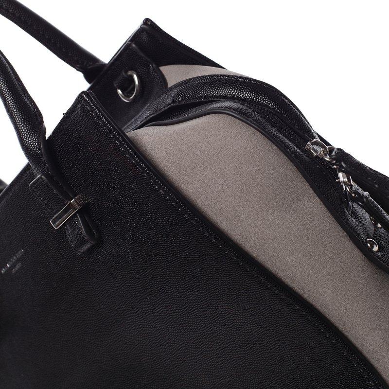 Dámská kufříková kabelka Dorota černá