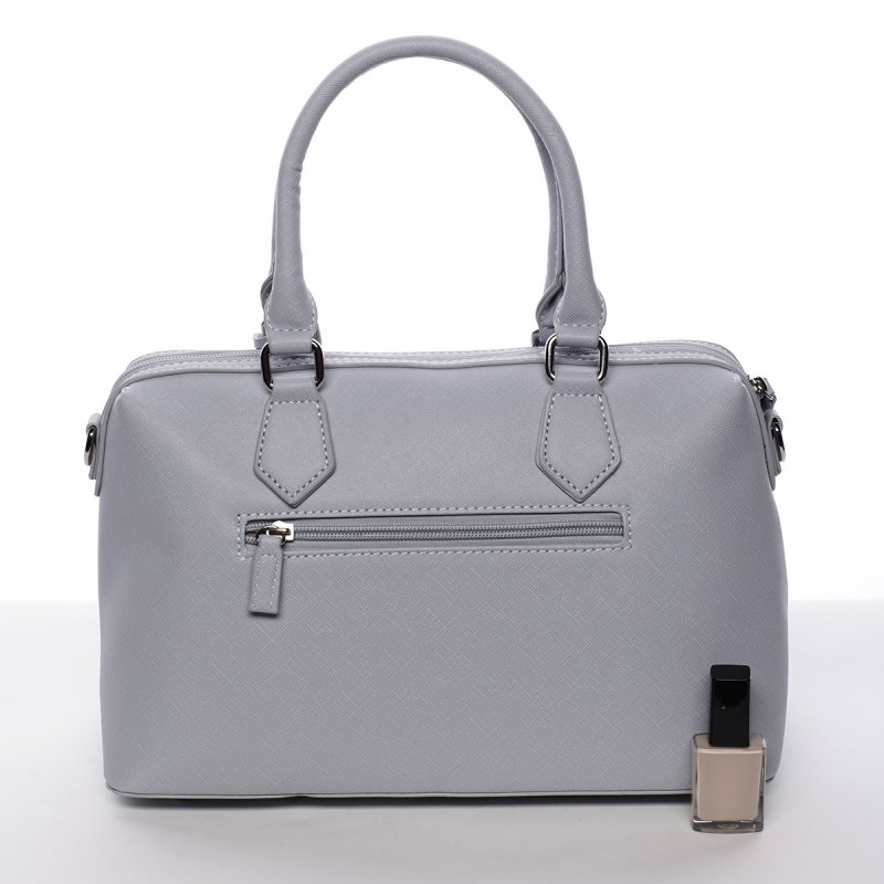 Dámská elegantní kufříková kabelka Lubica modrá
