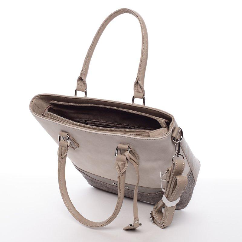 Dámská praktická kabelka Táňa béžová