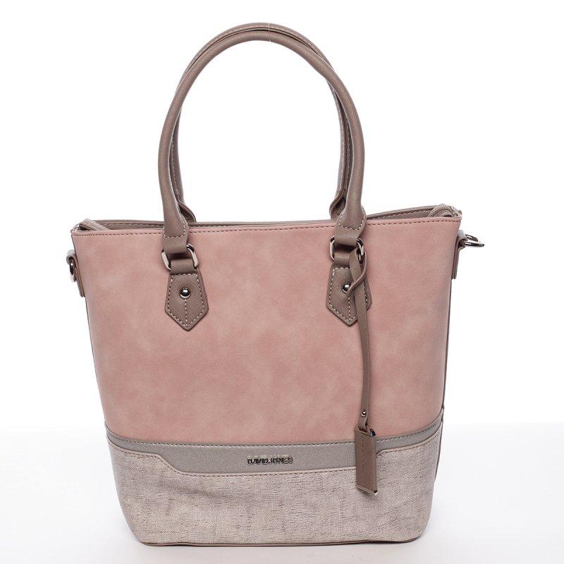 Dámská praktická kabelka Táňa růžová