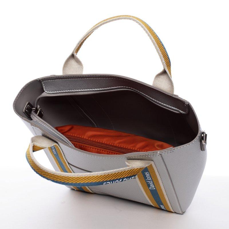 Dámská kabelka Ema stříbrná