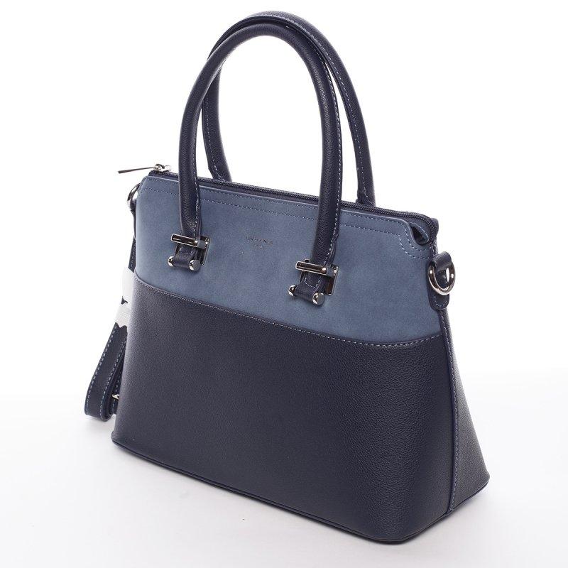 Dámská decentní kabelka Milena tmavě modrá