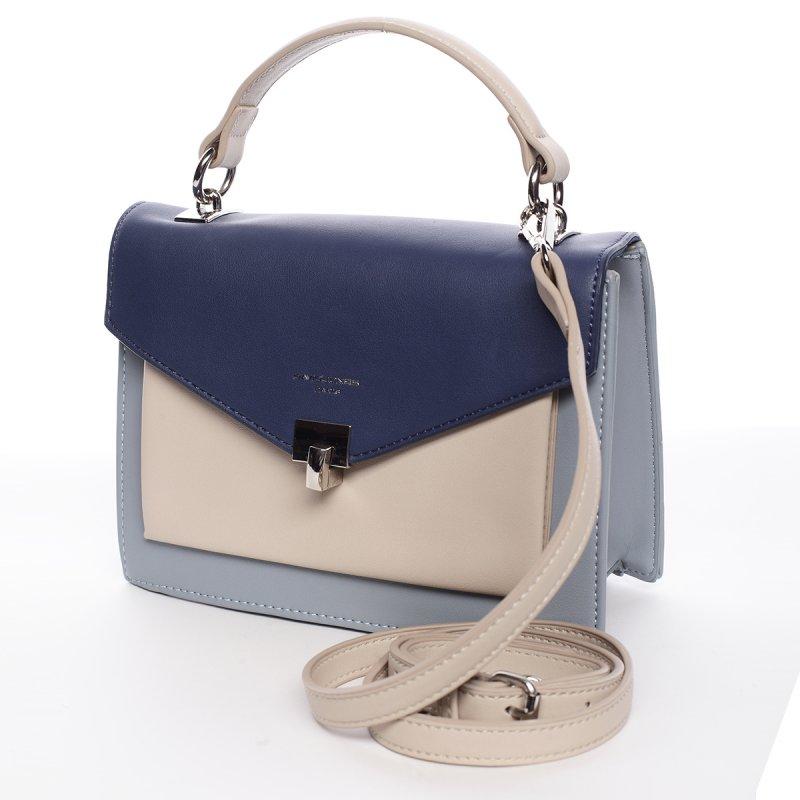 Stylová dámská crossbody kabelka MADELEINE, světle modrá