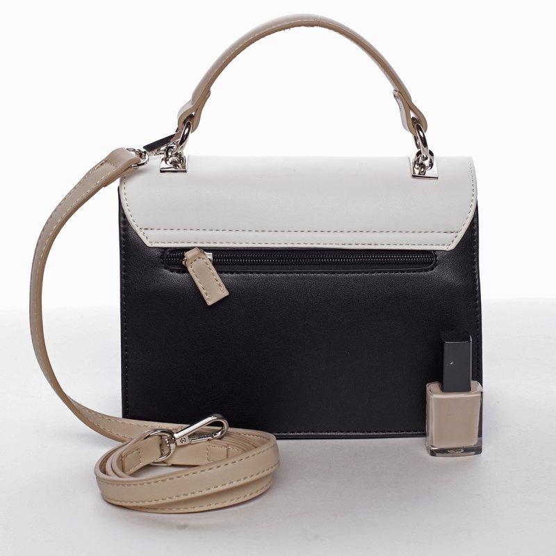 Stylová dámská crossbody kabelka MADELEINE, černá