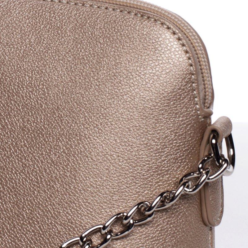 Módní crossbody kabelka EWA, zlatá