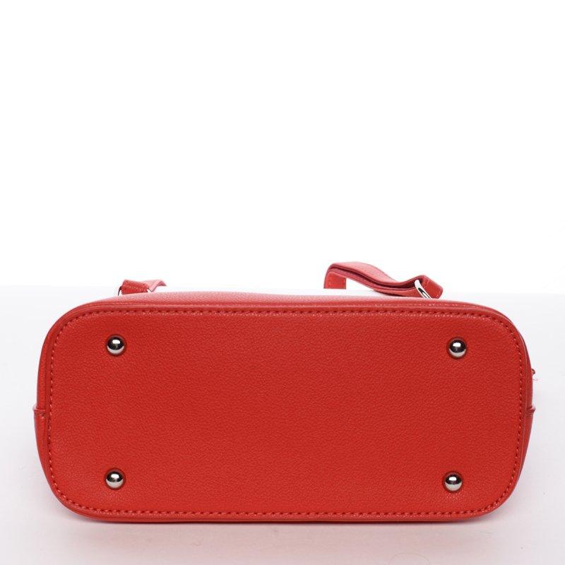 Módní crossbody kabelka EWA, červená