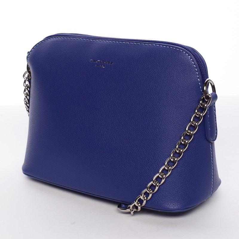 Módní crossbody kabelka EWA, modrá
