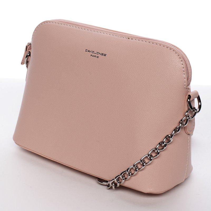 Módní crossbody kabelka EWA, růžová