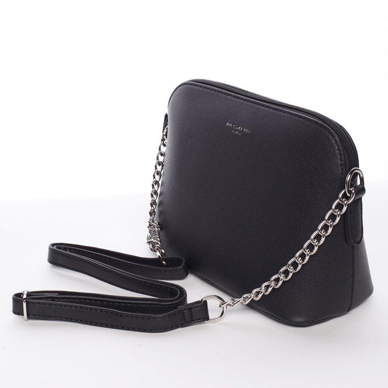 Módní crossbody kabelka EWA, černá