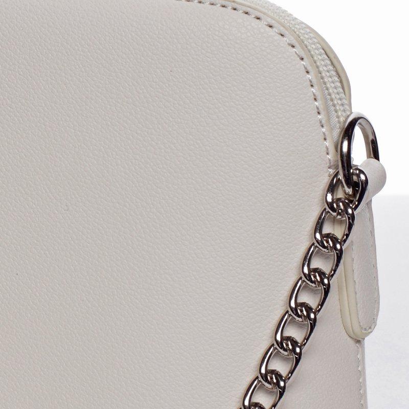 Módní crossbody kabelka EWA, bílá