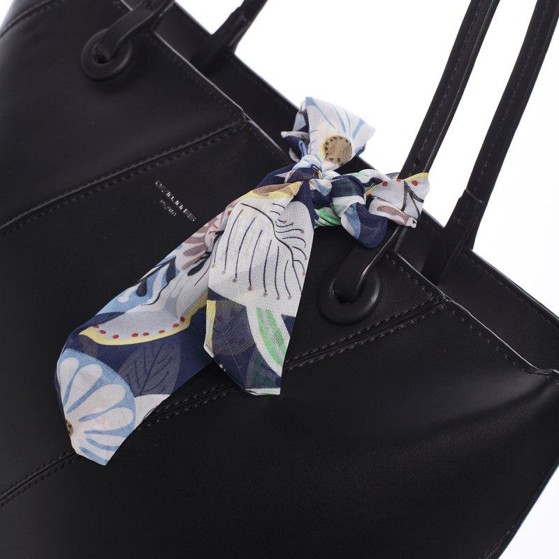 Elagentní kabelka přes rameno, černá