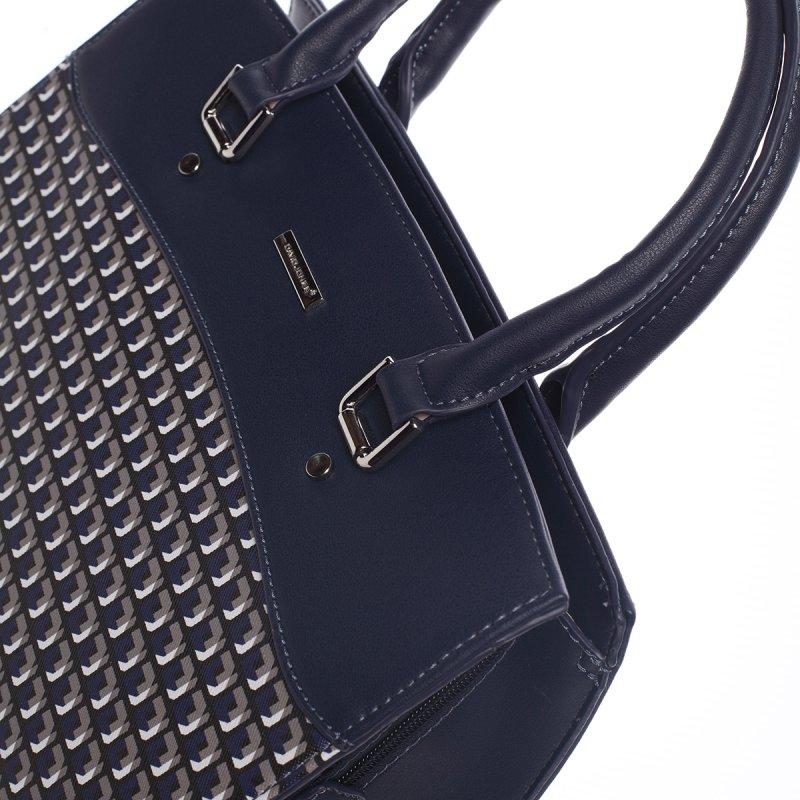 Módní kabelka do ruky ISABELLE, tmavě modrá