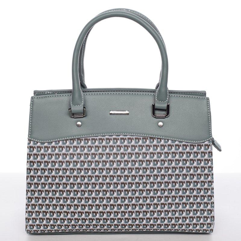 Módní kabelka do ruky ISABELLE, zelená
