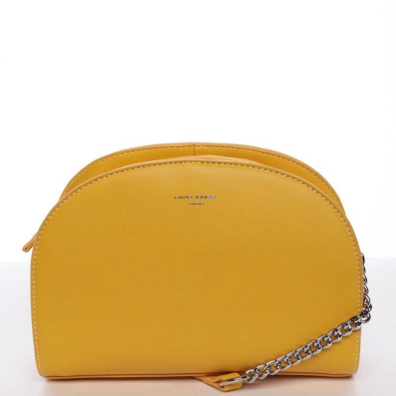 Stylová crossbody kabelka ELISABETH, žlutá
