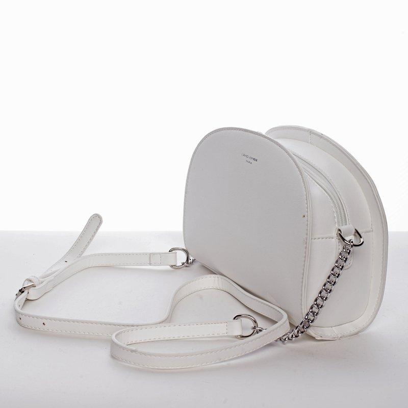 Stylová crossbody kabelka ELISABETH, bílá