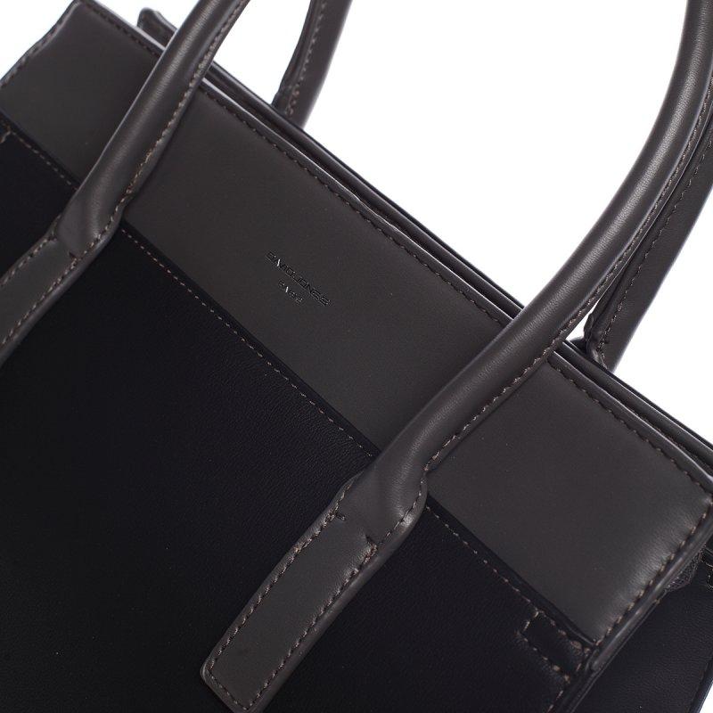 Trendy kabelka do ruky MARGUERITE, černá