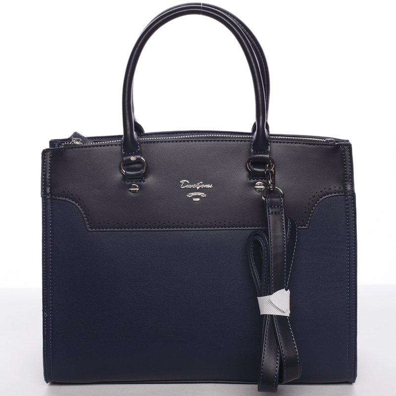 Dámská elegantní kabelka do ruky CHRISTELLE, tmavě modrá