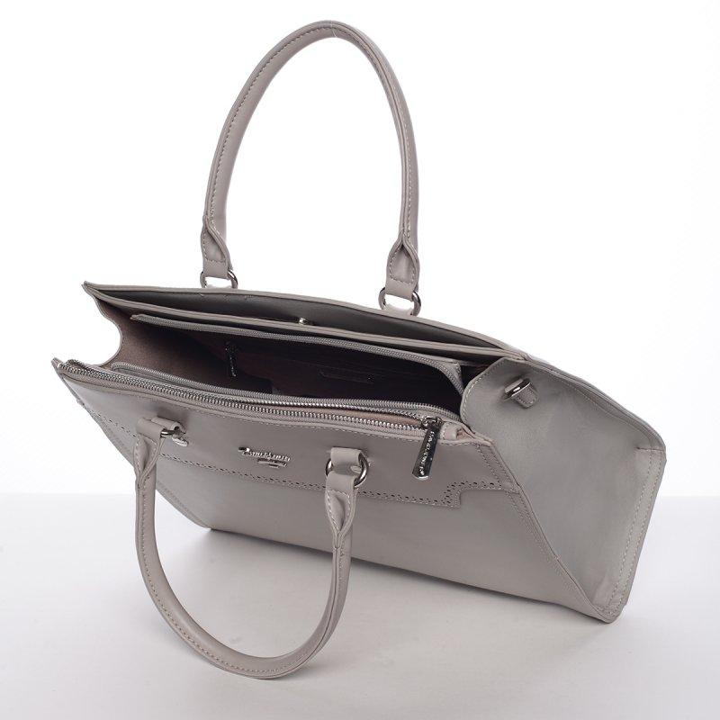 Dámská elegantní kabelka do ruky CHRISTELLE, šedá