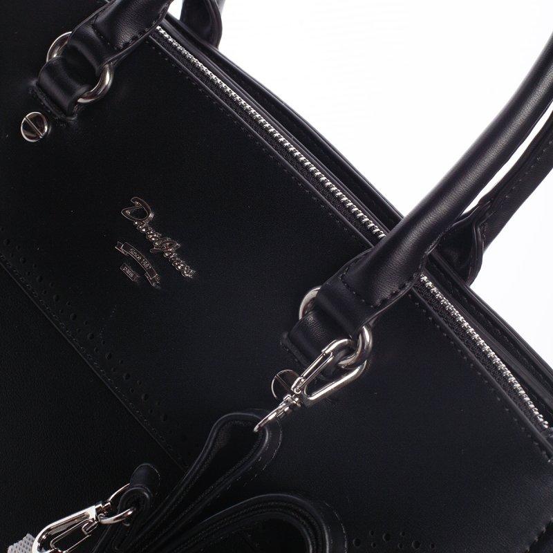Dámská elegantní kabelka do ruky CHRISTELLE, černá