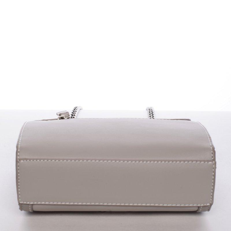 Stylová crossbody kabelka AURELIE, světle šedá