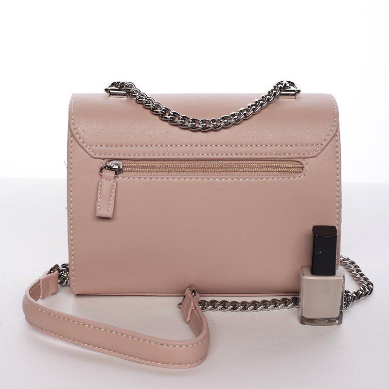 Stylová crossbody kabelka AURELIE, růžová