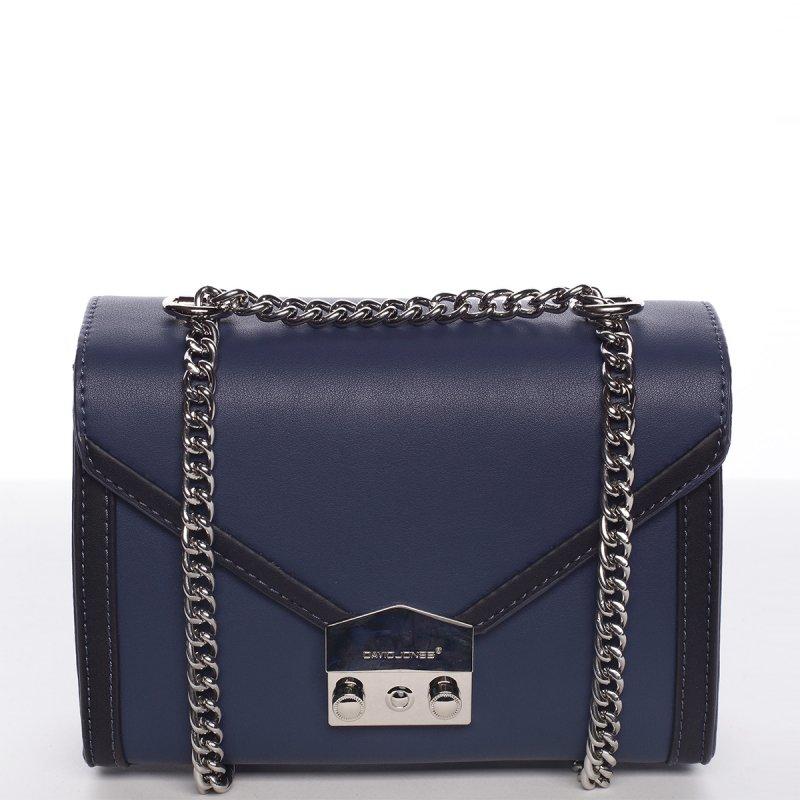 Stylová crossbody kabelka AURELIE, modrá