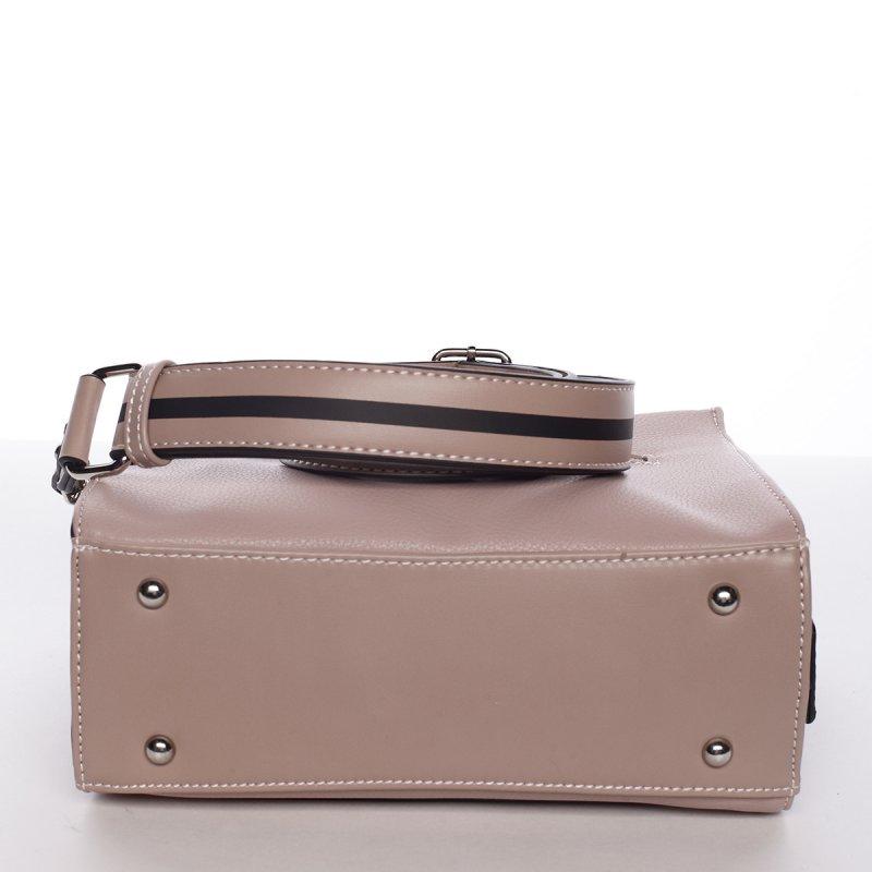 Nadčasová dámská crossbody kabelka PATRICIA, růžová