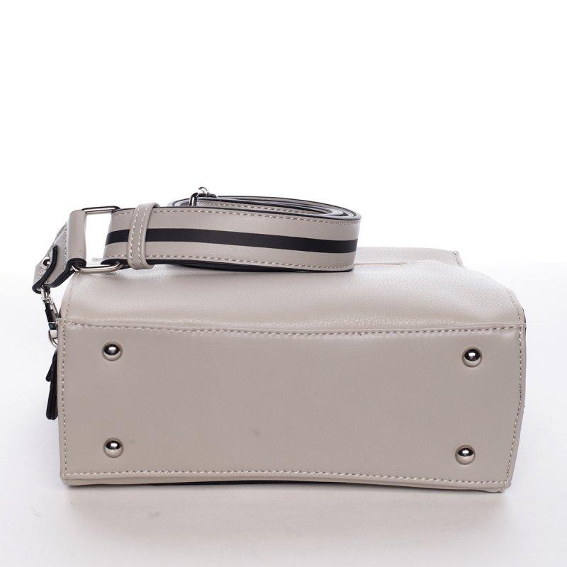 Nadčasová dámská crossbody kabelka PATRICIA, světle šedá