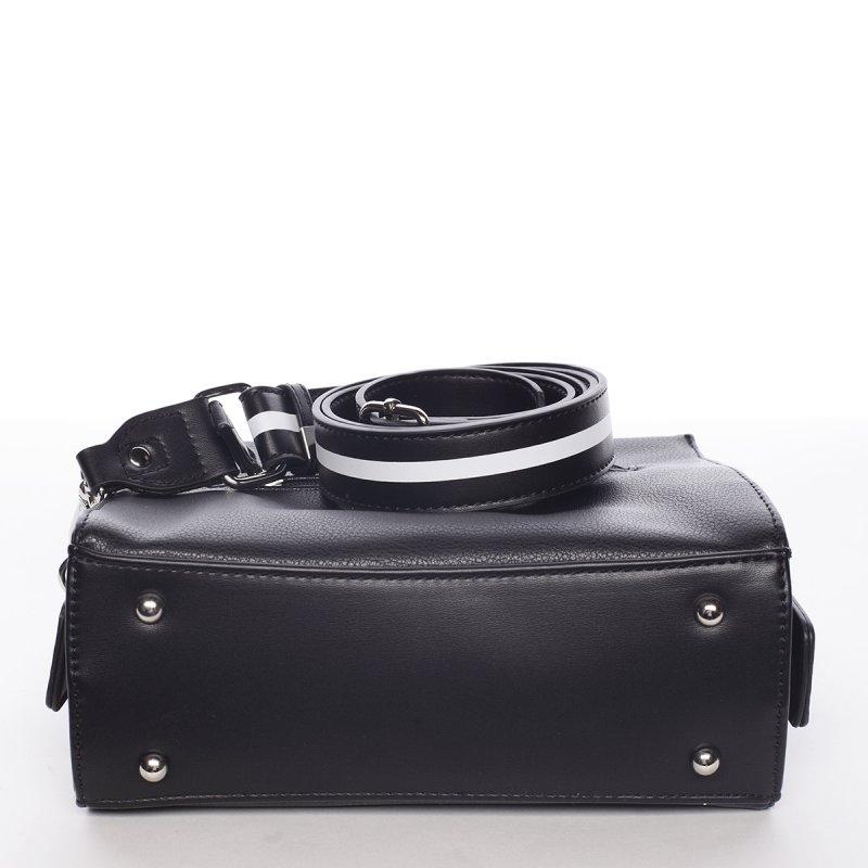 Nadčasová dámská crossbody kabelka PATRICIA, černá