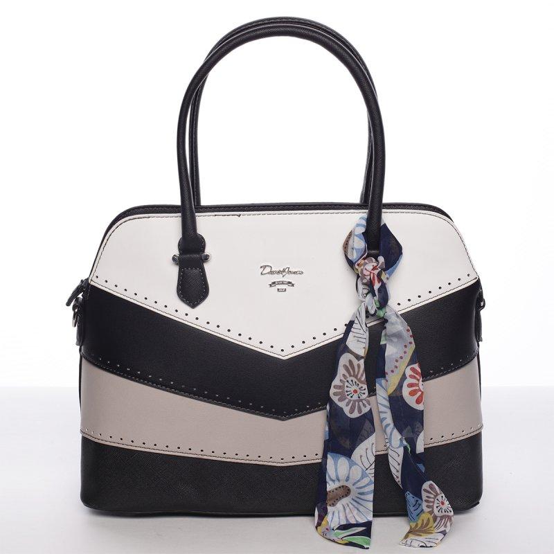 Originální kabelka do ruky MARTINE, černá