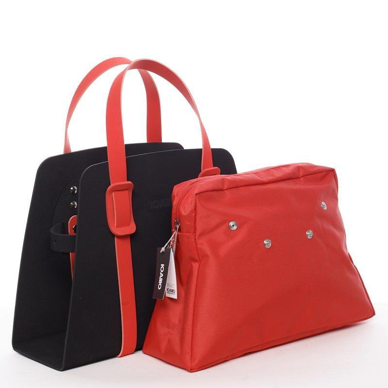 Luxusní italská dámská kabelka Genoveffa IOAMO