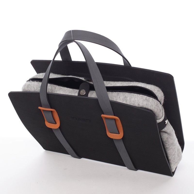 Nadčasová italská dámská kabelka Eduardo  IOAMO