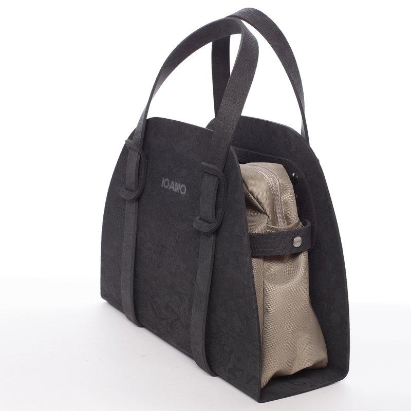 Stylová dámská italská kabelka Sisto IOAMO