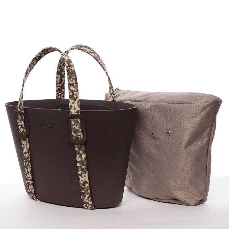 Poutavá dámská italská kabelka Beda IOAMO