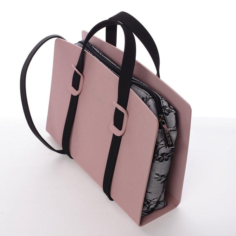 Nepřehlédnutelná italská dámská kabelka Barnaba IOAMO