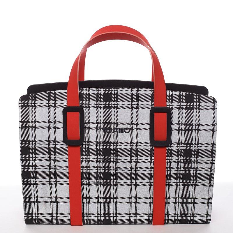 Impozantní dámská italská kabelka Basilide IOAMO