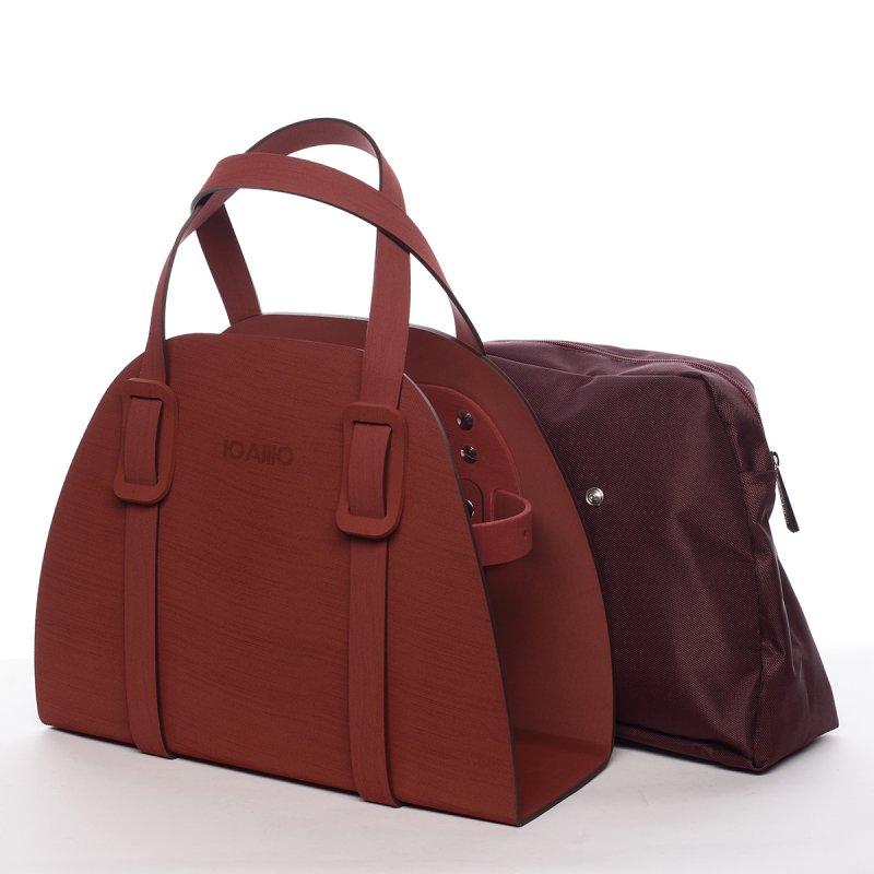 Poutavá dámská italská kabelka Adolfo IOAMO