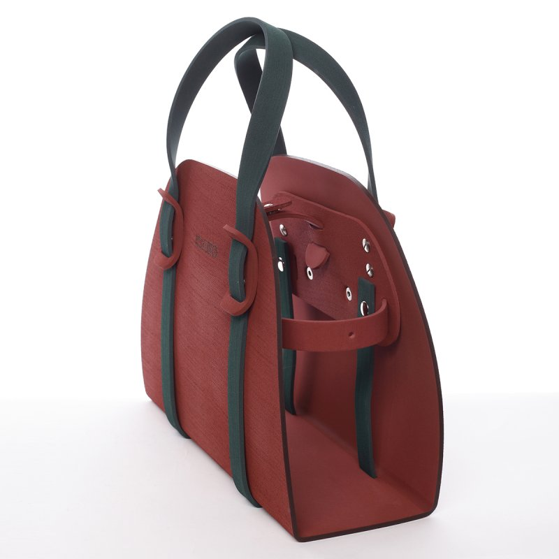 Nadčasová italská dámská kabelka Silverio  IOAMO
