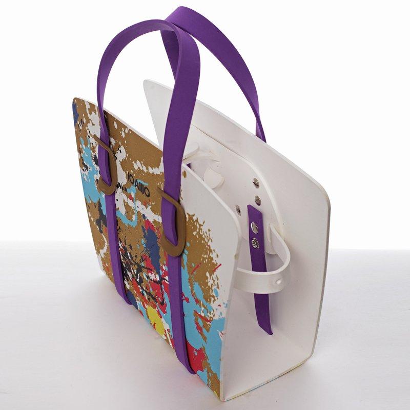 Impozantní dámská italská kabelka Lucca IOAMO