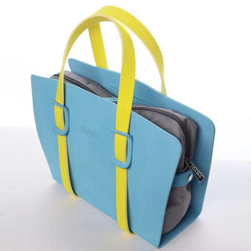 Strhující dámská italská kabelka Bruno IOAMO