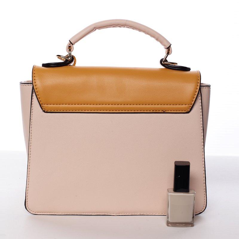 Podmanivá dámská kabelka Lesana růžová