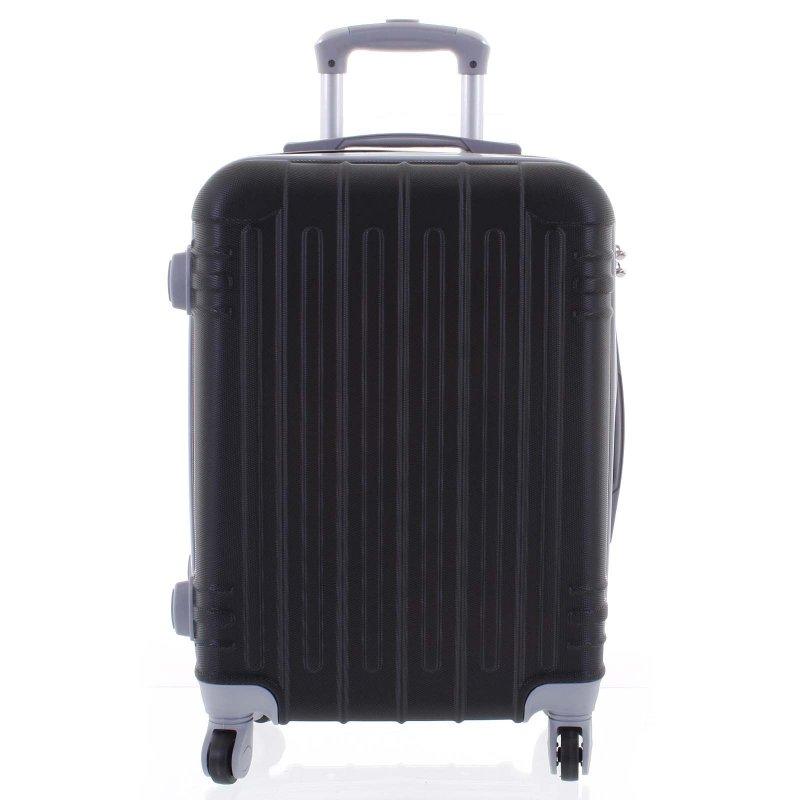 Cestovní kufr ORMI 4 kolečka, velikost II, černý