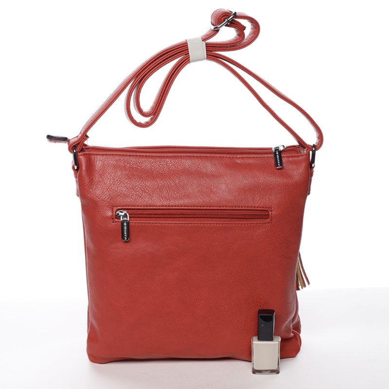 Dámská ležérní crossbody kabelka Maria, červená