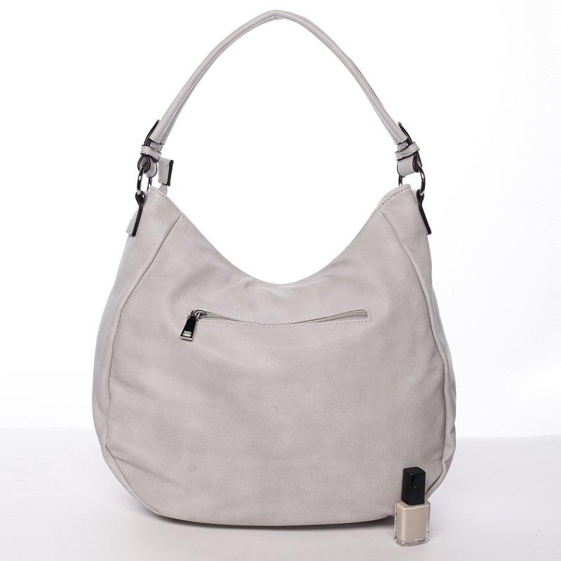 Elegantní dámská kabelka přes rameno Federica, šedá