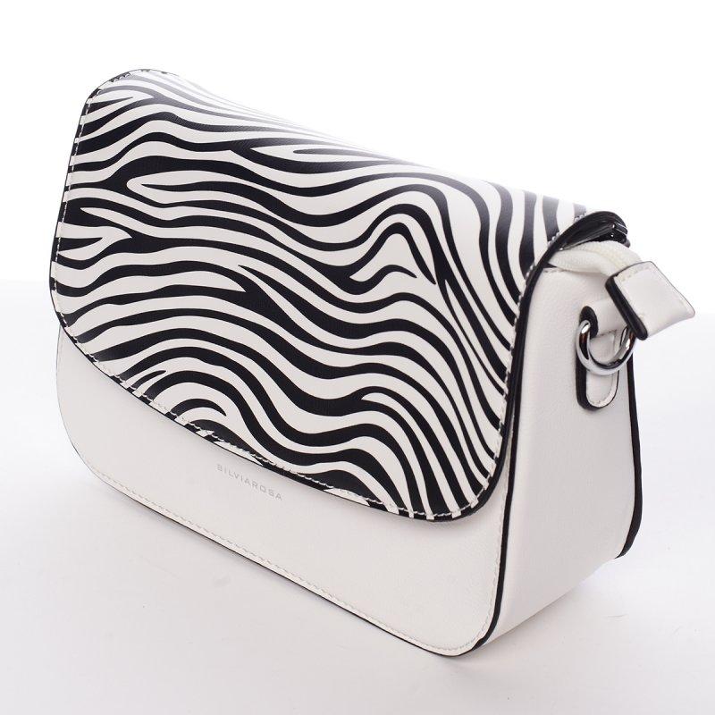 Luxusní crossbody kabelka Federica, bílá